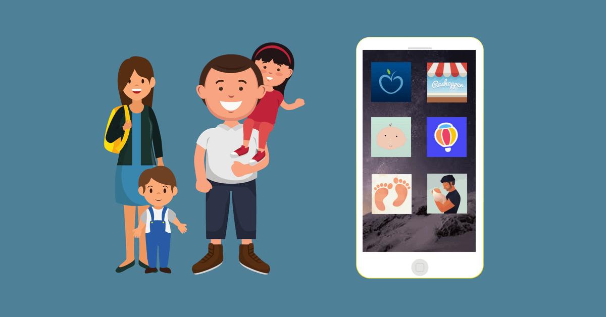 6 fede apps til forældre